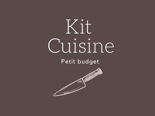 Kit Petit Budget Cuisine