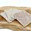 Thumbnail: Coton lavable bambou motif feuilles
