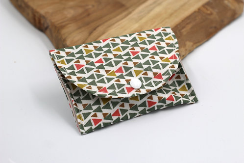 Pochette savon triangle