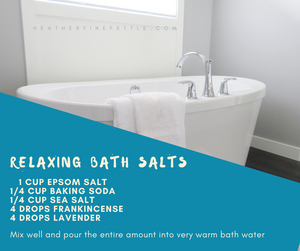 #Lavender and #Frankincense combine to make a #relaxing and #luxurious bath-time.