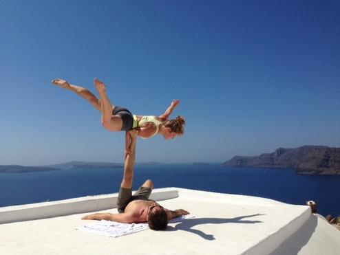 Acro Yoga W mit Alissa
