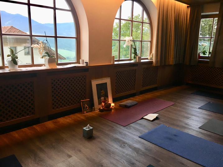 Yogaraum im Kirchenwirt