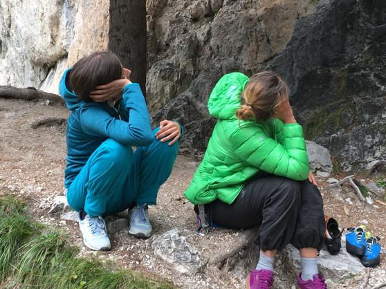 Yoga & Klettern Dolomiten