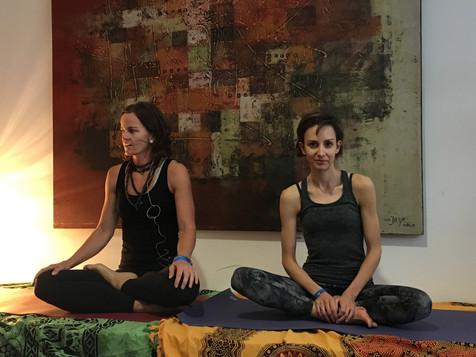 Barbara & Team Yogafestival