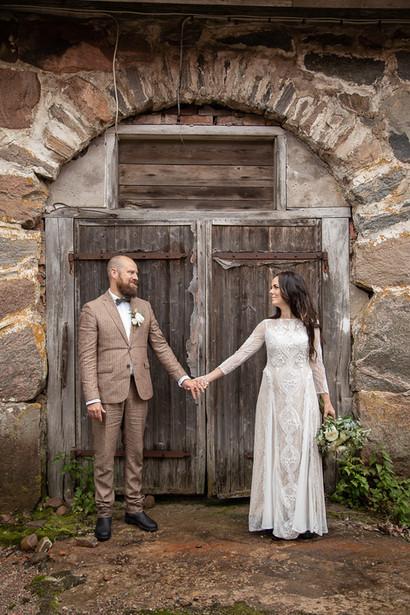 Bröllopsfotografering mollungen