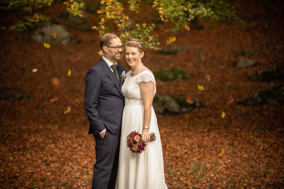 Bröllopsfotografering Nolhaga slott