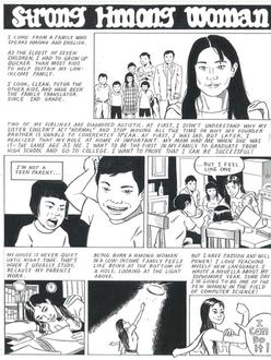 Strong Hmong Woman