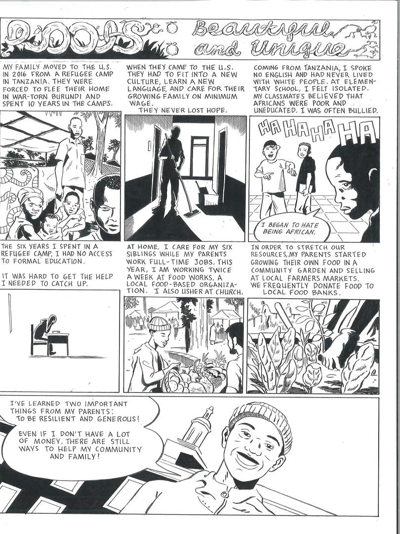 Japhety's graphic novel
