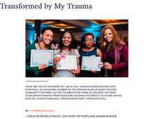 Transformed By My Trauma