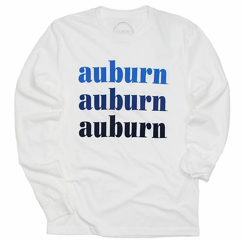 Auburn On Repeat Long sleeve