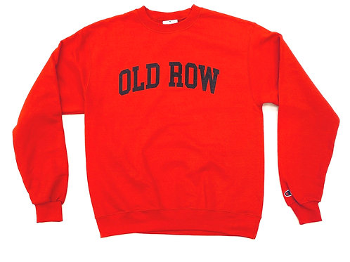 Old Row Red Crewneck