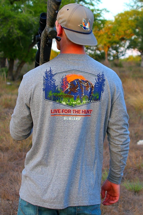 Live for the Hunt L/S