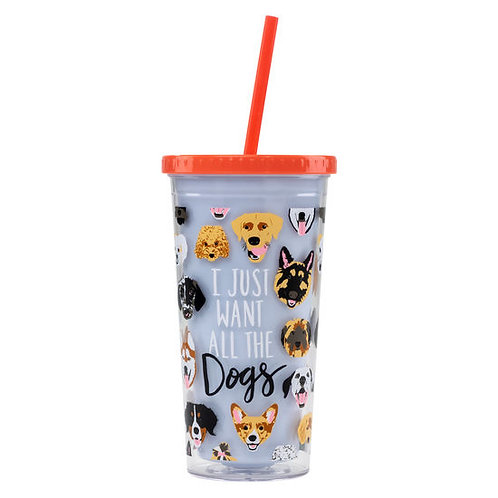 All the Dogs Tumbler