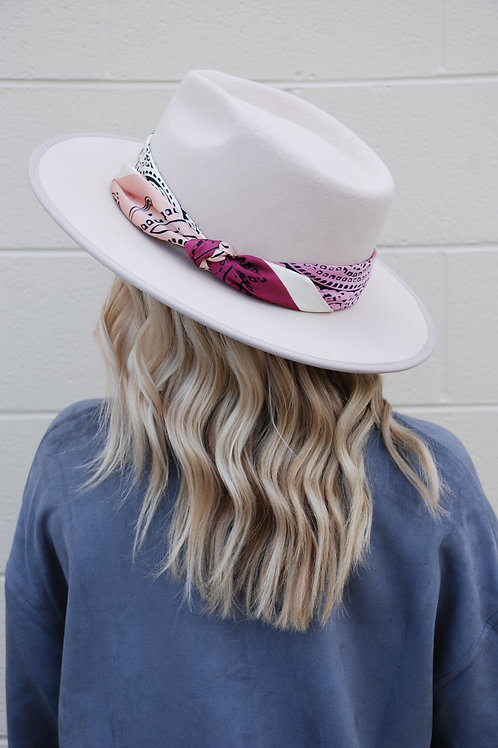 Here For Today Blush Hat