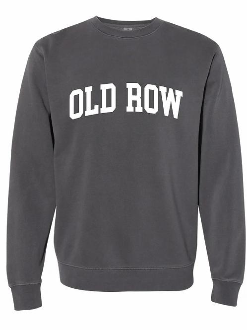 Old Row Sweatshirt Charcoal