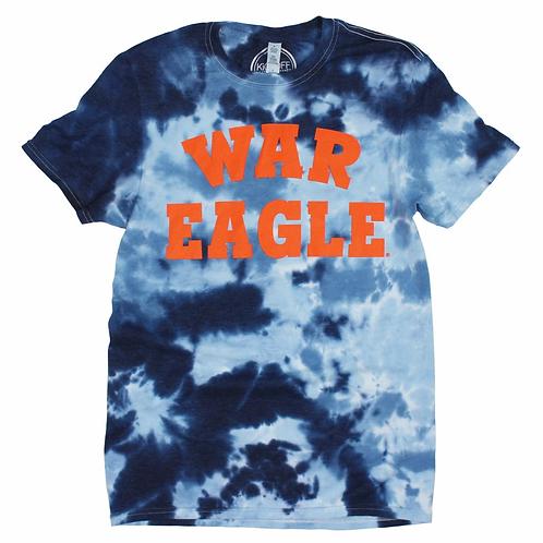 War Eagle Tie-dye tee