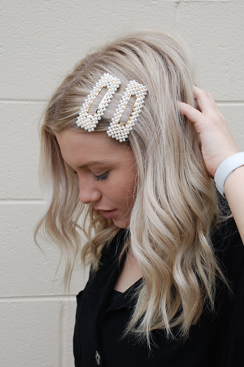 60s Glam Hair Clips