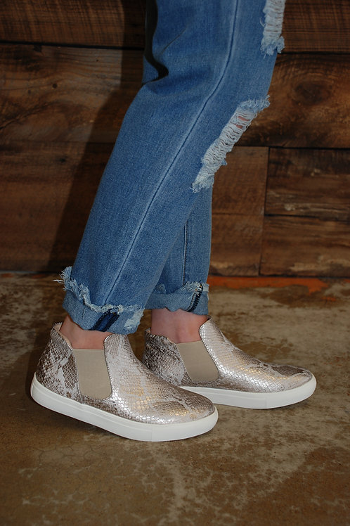 Harlan Rose Gold Slip-Ons