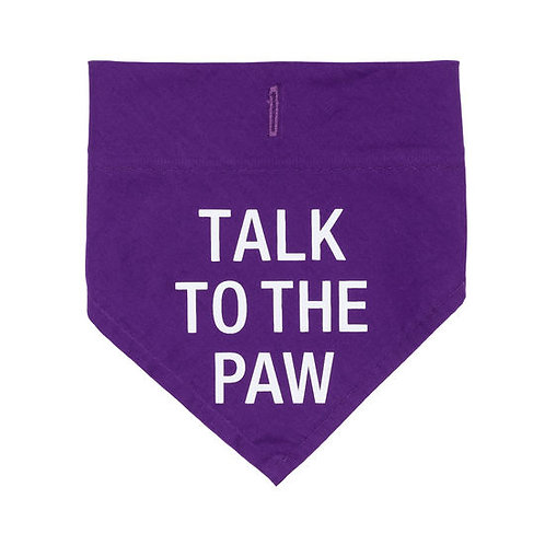 Talk to the Paw Doggie Bandana S/M