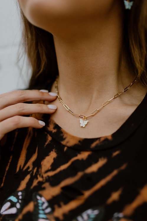 Whimsy Butterfly Necklace