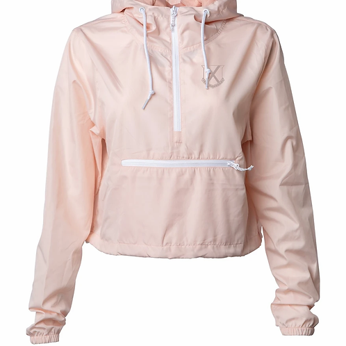 Old row pink windbreaker