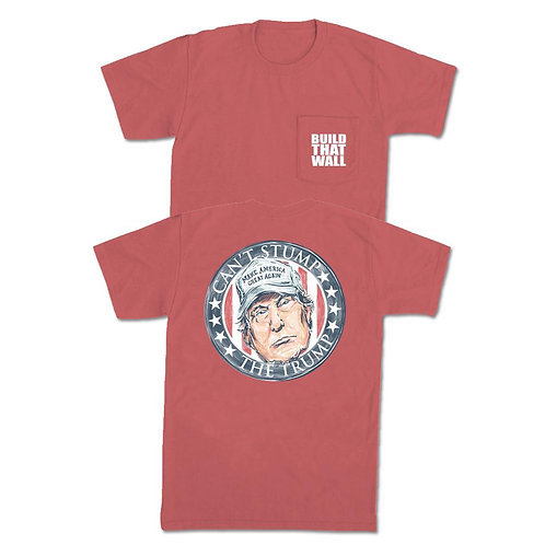 Old Row Can't Stump The Trump Pocket Tee