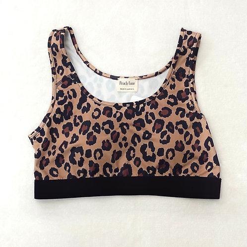 Cheetah Print Bra top