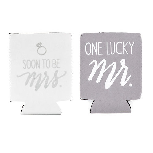 Mr. and Mrs. Koozie Set