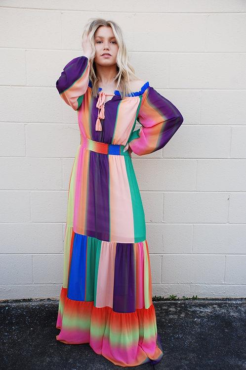 Life's A Rainbow Maxi