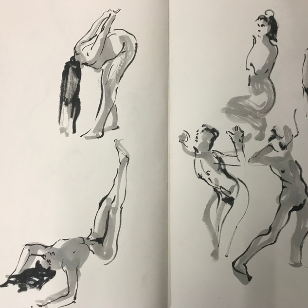 Drawing in Motion
