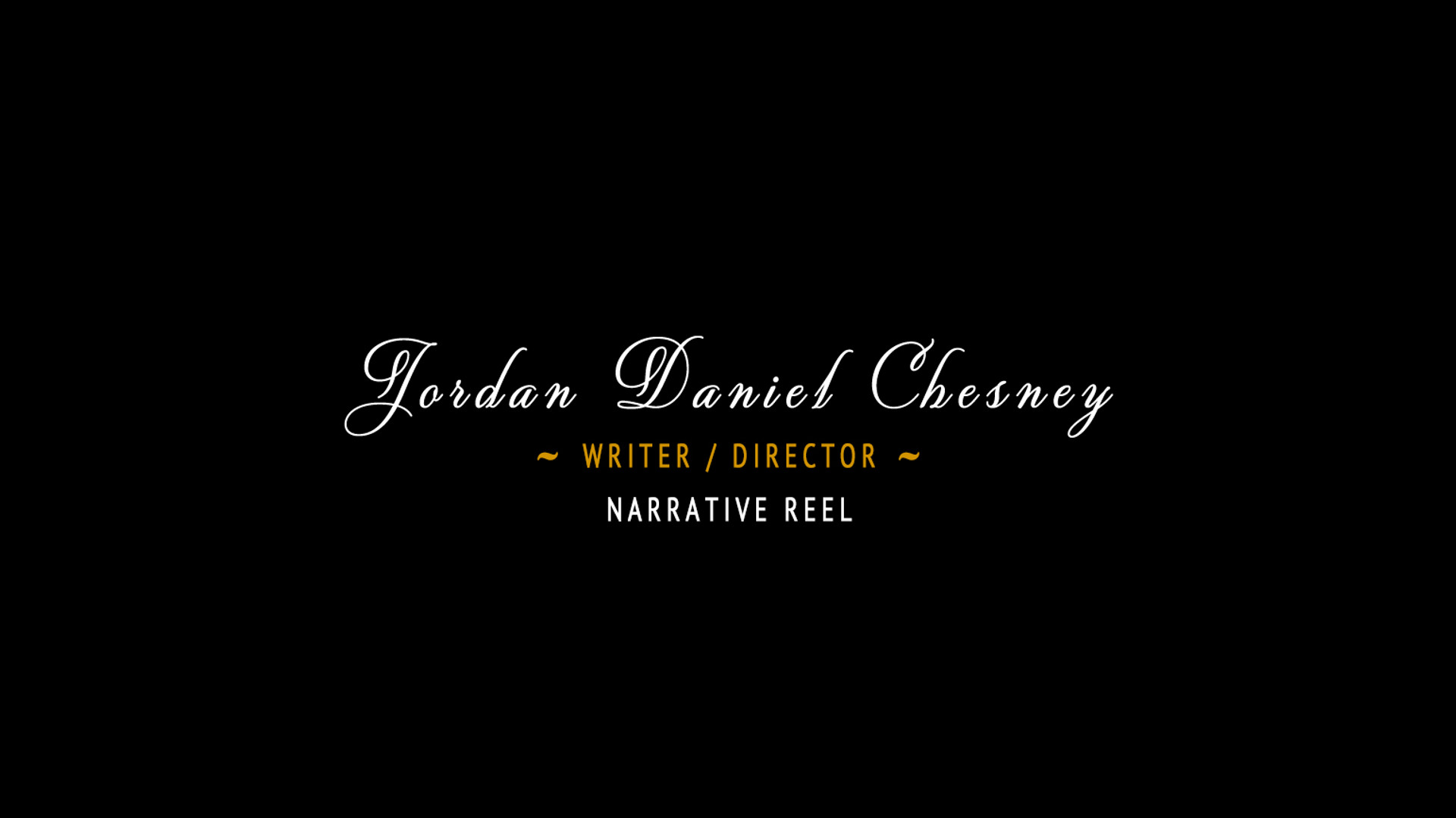 Narrative Reel