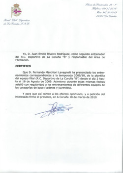 RC Deportivo La Corunã