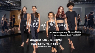 Hall of Mirrors A Contemporary Circus Show by Les Ailes du Desir Foundation