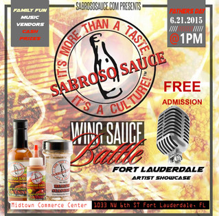 Father's Day Wing Sauce Battle Presented by Sabroso Sauce