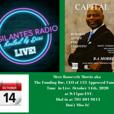 Roosevelt Morris Interview on Vigilantes Radio Live