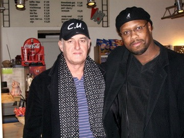 Jan Akkerman of the Band Focus and David Hadley Ray