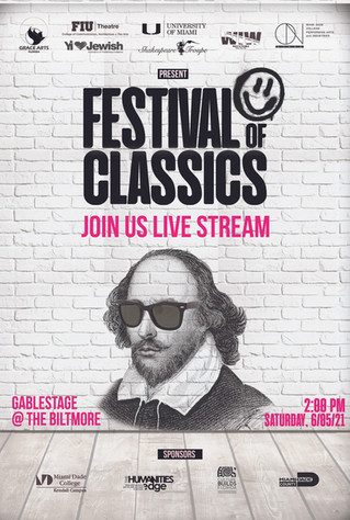"""South Florida Actors Offering a """"Festival of Classics"""" Livestream from the Historic Biltmore Hotel"""