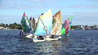 Street Art Regatta Sets Sail From Lauderdale Yacht Club