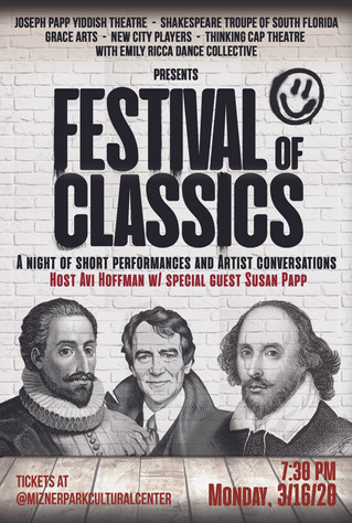 One Night Only Festival of Classics at Mizner Park Cultural Center
