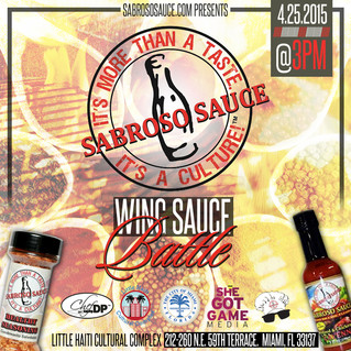 Coming Soon! SabrosoSauce Wing Sauce Battle