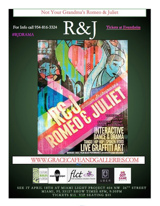 A Hip Hop, Tango, Artful, New Twist on Romeo & Juliet