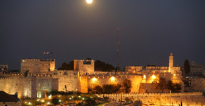 Praying for the Peace of Jerusalem by Rabbi Danielle Upbin