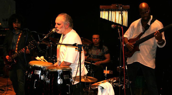 Saiichi Sugiyama-Guitar, Helder Pack-Drums, Pete Brown-Percussion, David Hadley Ray-Bass