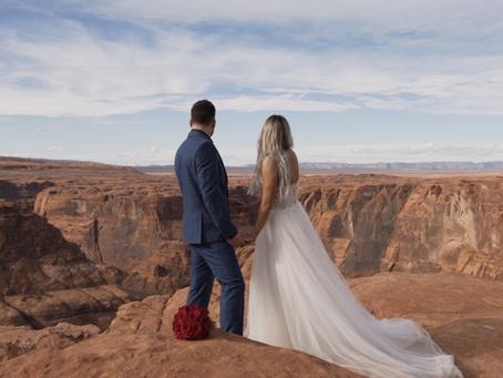 Slot Canyon and Horseshoe Bend Wedding | Jeff + Cindy Highlight Film
