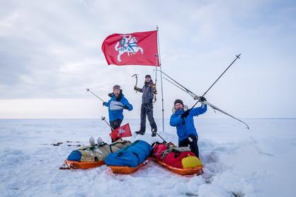 Slidėmis per Baltijos jūrą