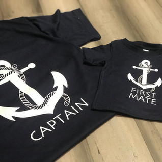 CAPTAIN AND FIRST MATE SHIRT