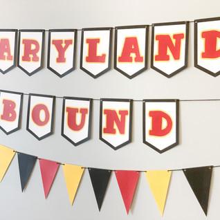 MARYLAND BOUND BANNER