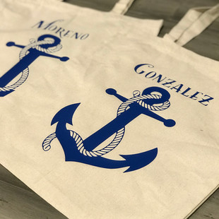 PERSONALIZED CRUISE TOTES