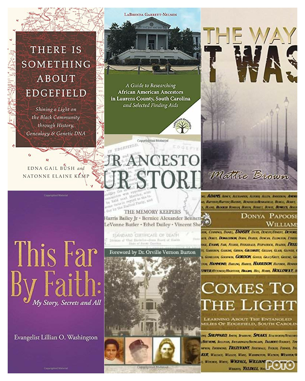 The books on Edgefield County