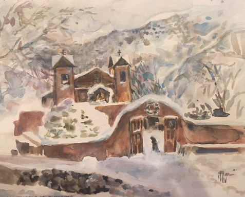 Chimayo in the Snow